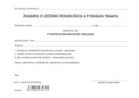 Žiadanka o liečebnú rehabilitáciu, list A5