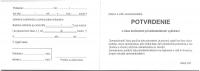 Potvrdenie o čase strávenom pri ambulantnom vyšetrení (blok A7, 100 listov)
