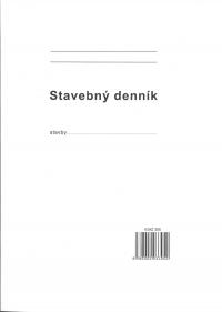Stavebný denník A4 (158 listov, číslovaný, samoprepisovací)