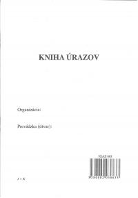 Kniha úrazov A5 zošit - 32 strán