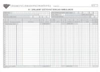 Základný zúčtovací doklad ambulancie (list A4)