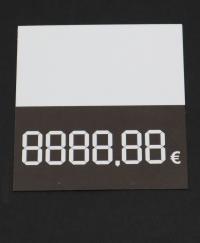 74x70mm digitálna cenovka