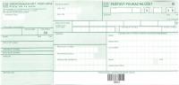 Poštový peňažný poukaz U šek