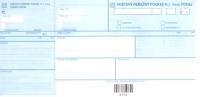 Poštový peňažný poukaz H šek