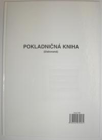Pokladničná kniha, 100 listová-viazaná