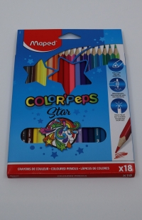 Farebné ceruzky Maped Color Peps 18 ks