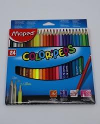 Farebné ceruzky Maped Color Peps 24ks