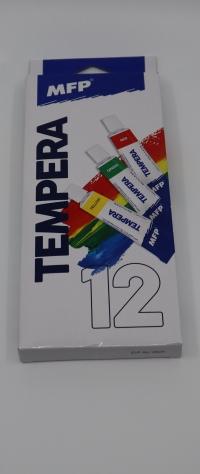 Temperové farby 12ml/12ks