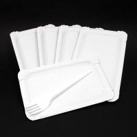 Papierový jednorázový tanier 23cm