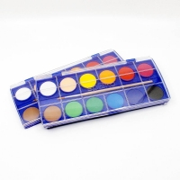 Vodové farby - 12ks Spoko