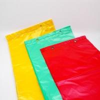 Mikroténové sáčky Kramix 250x350mm/farebné/150ks