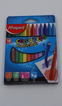 Plast. pastely Maped PlastiClean 12ks