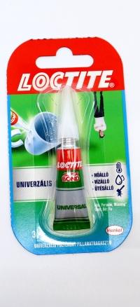 Lepidlo Loctite universal 3g sekundové lepidlo