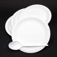 Papierový jednorázový tanier 18cm