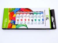 Olejové farby 12ks