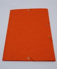 Doska s gumičkou prešpán oranžová