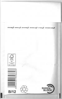 12x21.5 cm B12 bublinková obálka