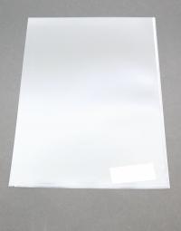 A5 obal (priesvitný obal z PVC otvorený hore a na boku)