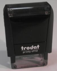 Trodat printy 4910 pečiatka (26x10mm)